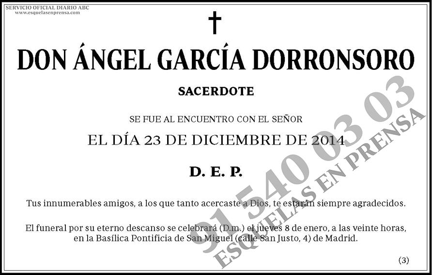 Ángel García Dorronsoro